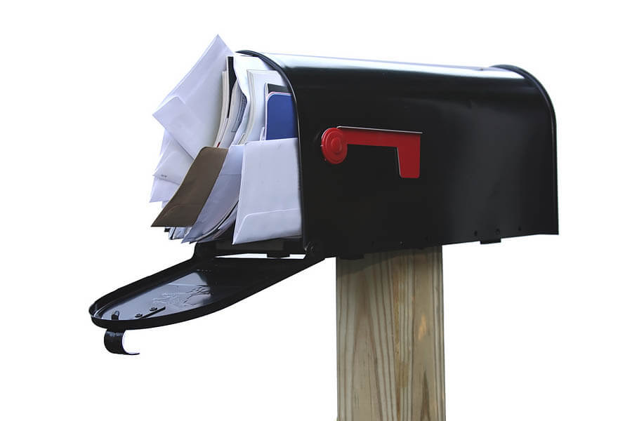 How to eliminate junk mail in Lacey, WA